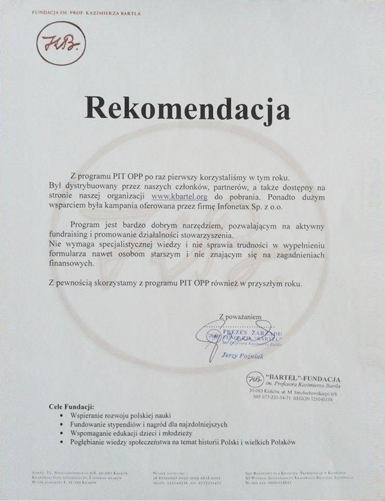 Fundacja im. K. Bartla